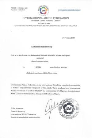 IAF Membership Certificate (Pulsar para ver)